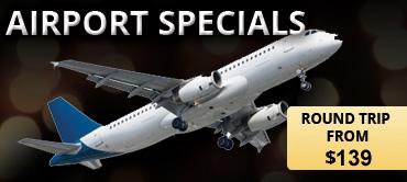 Round Trip Airport Specials